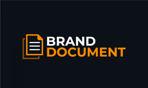 Branddocument - Consulting product name for sale