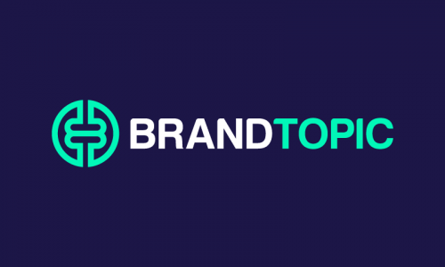 Brandtopic - Marketing business name for sale