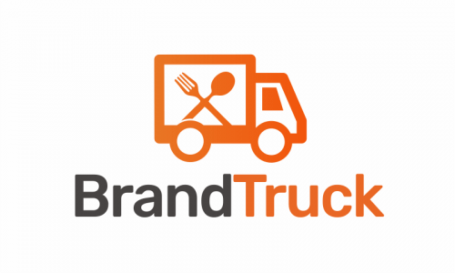 Brandtruck - Food and drink startup name for sale
