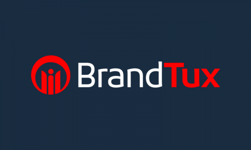 Brandtux - Marketing startup name for sale