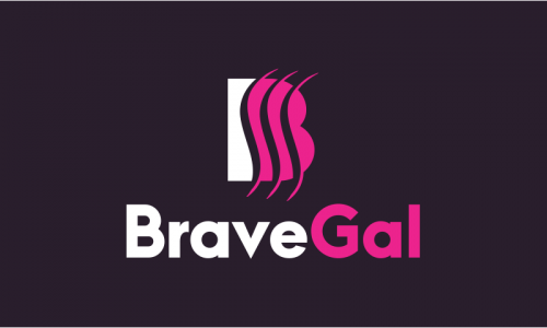 Bravegal - Fashion business name for sale