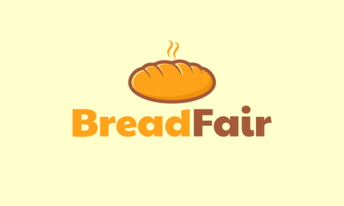 Breadfair - Food and drink company name for sale