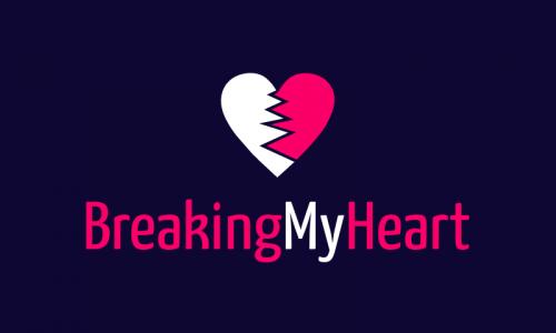 Breakingmyheart - E-commerce startup name for sale