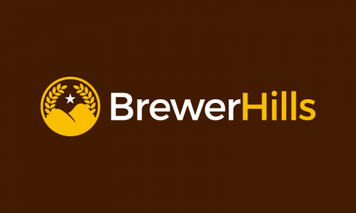 Brewerhills - E-commerce business name for sale