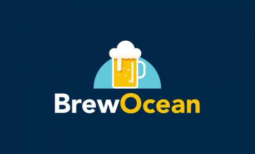 Brewocean - Drinks domain name for sale