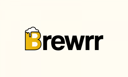Brewrr - Alcohol domain name for sale