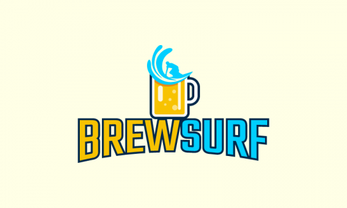 Brewsurf - Drinks company name for sale