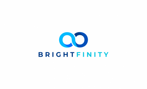 Brightfinity - Contemporary business name for sale