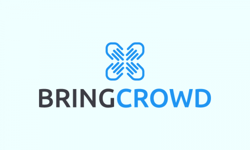 Bringcrowd - Search marketing startup name for sale