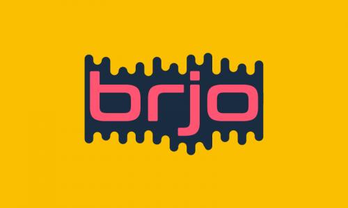 Brjo - Modern domain name for sale