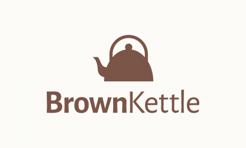 Brownkettle - Food and drink company name for sale