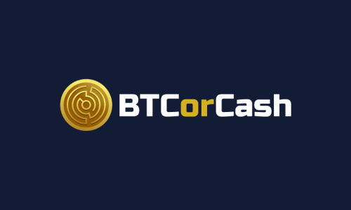 Btcorcash - Finance startup name for sale