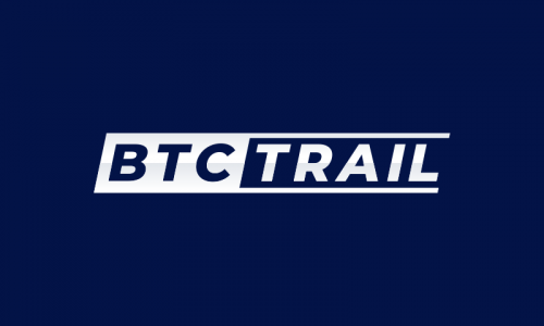 Btctrail - Cryptocurrency startup name for sale