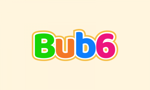 Bub6 - Media domain name for sale