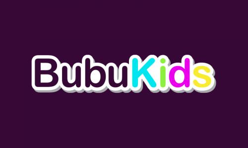 Bubukids - Retail domain name for sale