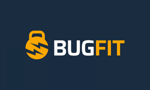 Bugfit - Fitness domain name for sale