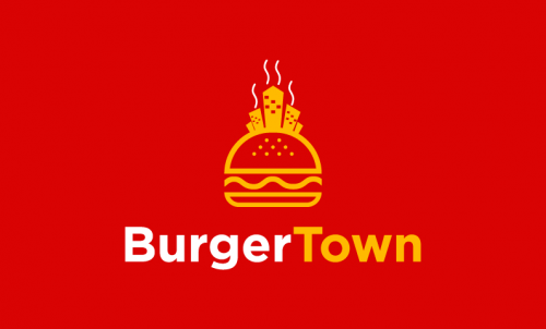 Burgertown - Dining startup name for sale
