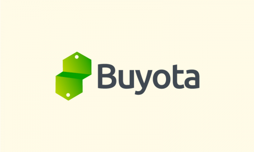 Buyota - E-commerce startup name for sale