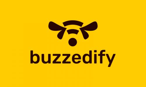 Buzzedify - Technology company name for sale