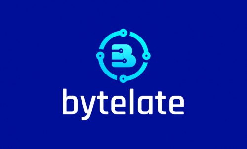 Bytelate - Technology business name for sale