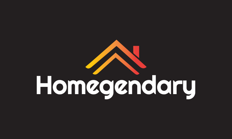 Homegendary - Real estate startup name for sale
