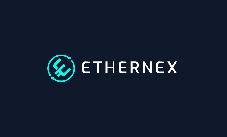 Ethernex - Cryptocurrency startup name for sale