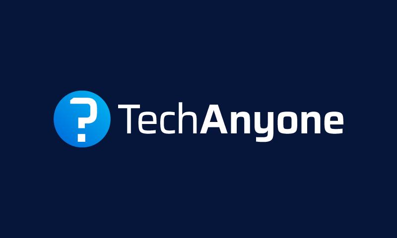 Techanyone - Technology domain name for sale