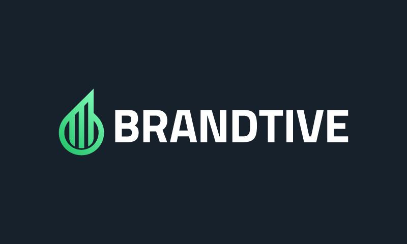 Brandtive - Marketing company name for sale