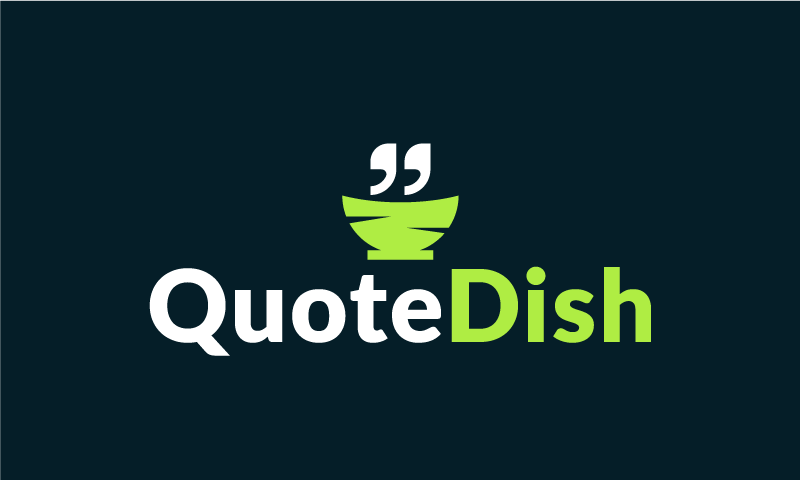 Quotedish - Retail domain name for sale