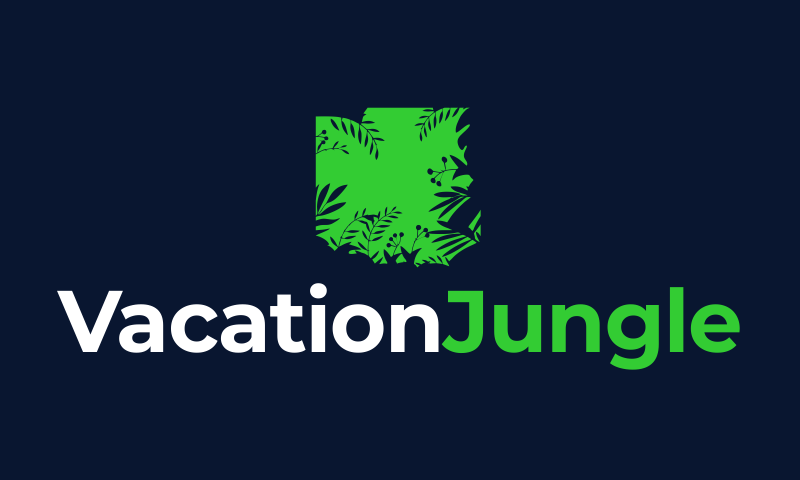 Vacationjungle - Travel startup name for sale