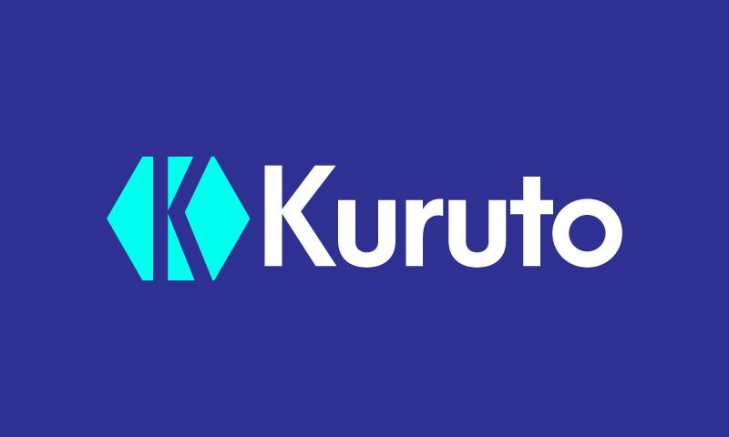 Kuruto - Technology startup name for sale
