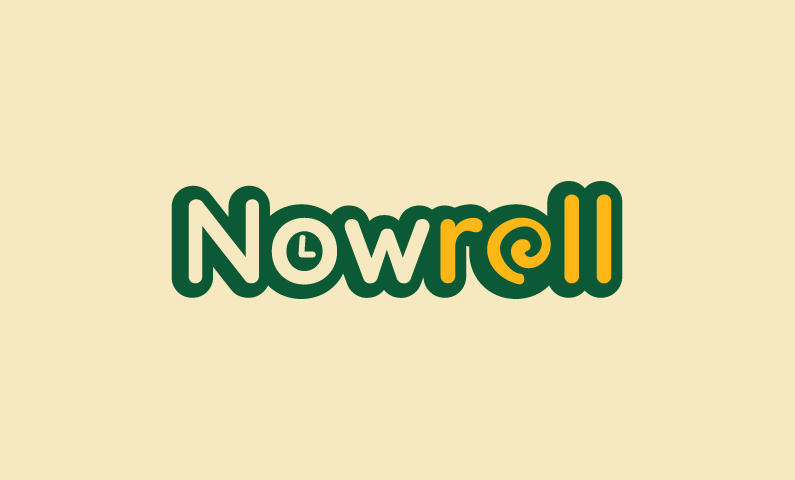 Nowroll - E-commerce company name for sale