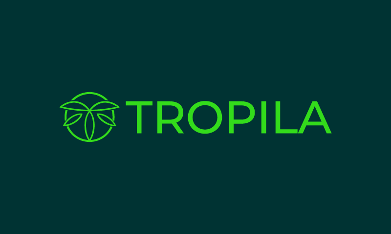 Tropila - Travel domain name for sale