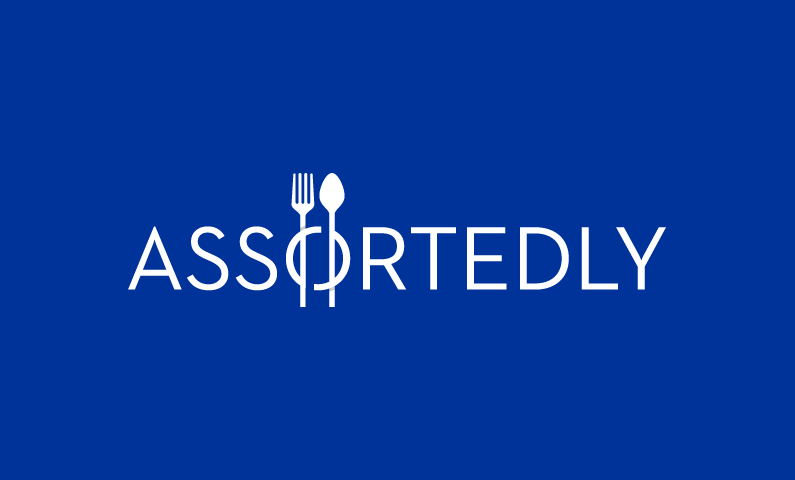 assortedly logo - Strong store name