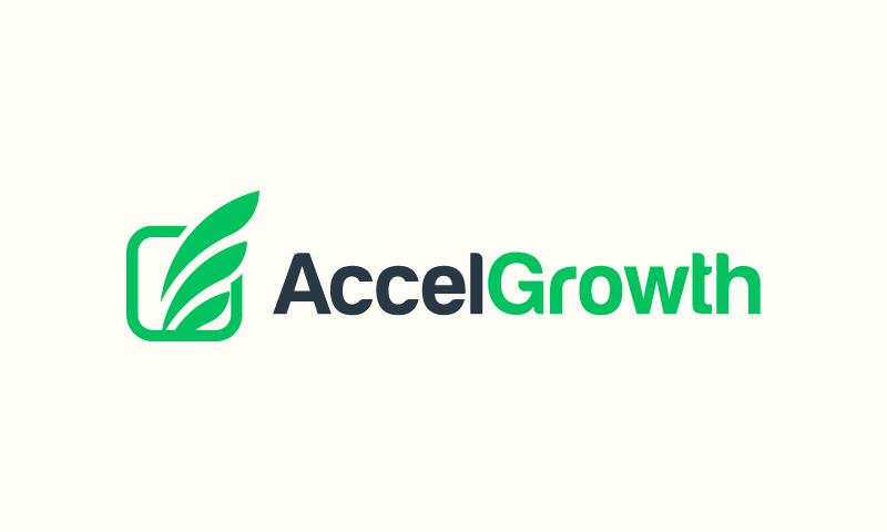 AccelGrowth logo