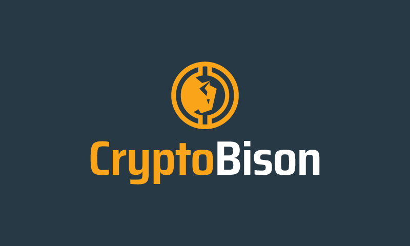 Cryptobison - Cryptocurrency brand name for sale
