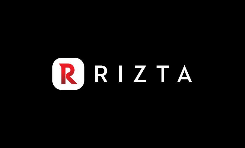 rizta logo - Clean modern brand name