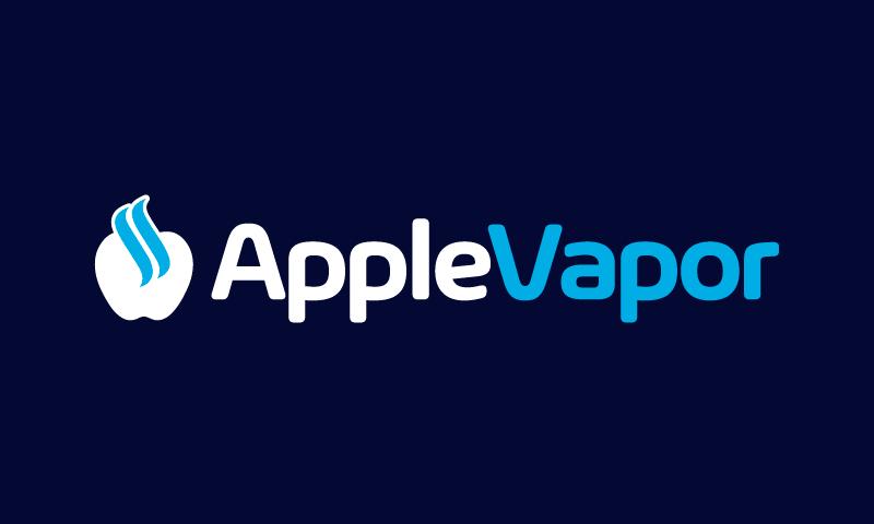 Applevapor - Retail startup name for sale