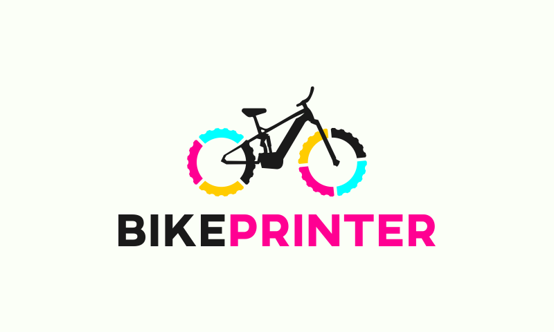 Bikeprinter - Manufacturing startup name for sale