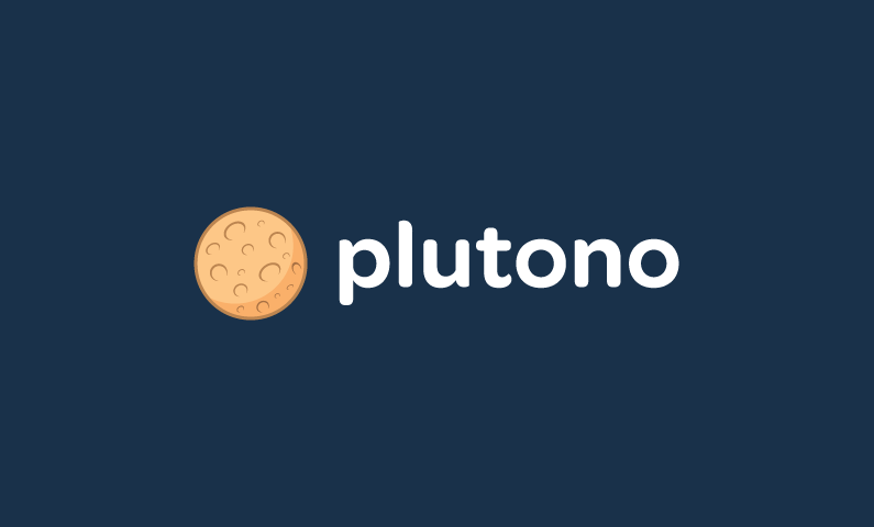 Plutono - Modern startup name for sale