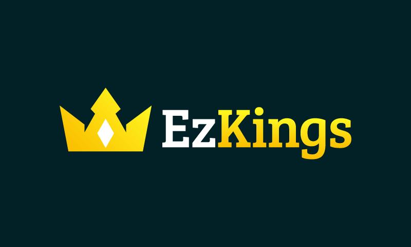 Ezkings - E-commerce domain name for sale