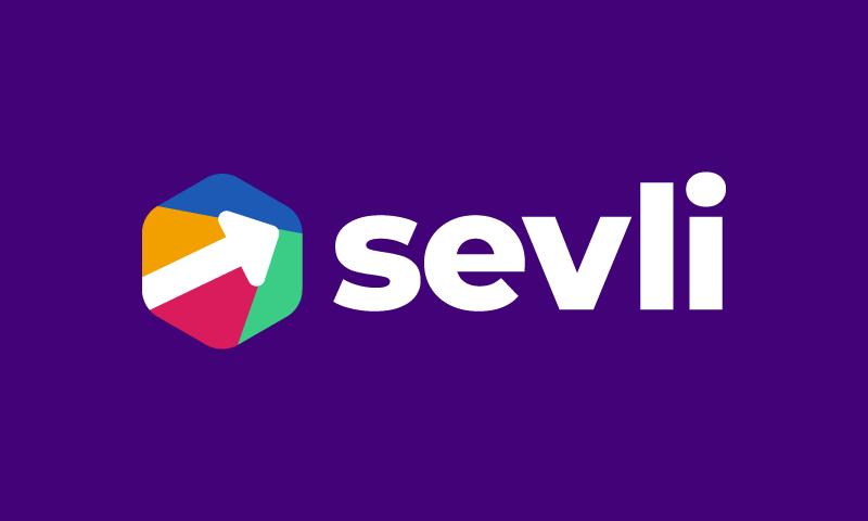 Sevli - Technology startup name for sale