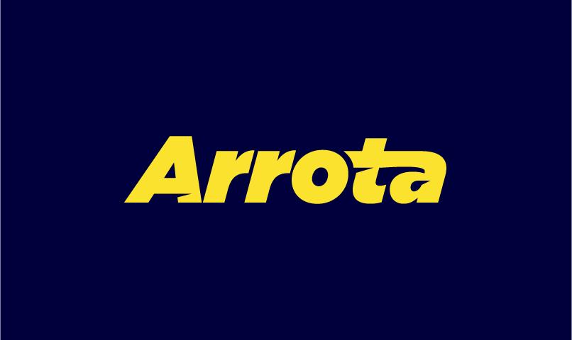 Arrota - Brandable business name for sale