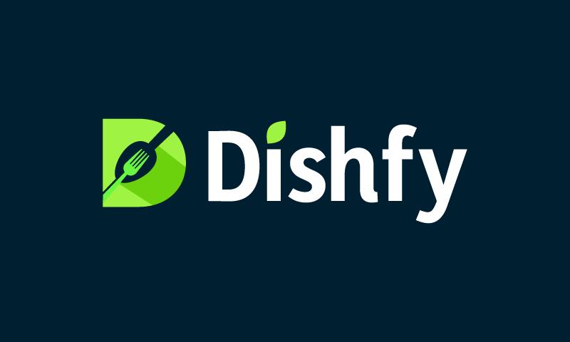 Dishfy - Retail brand name for sale