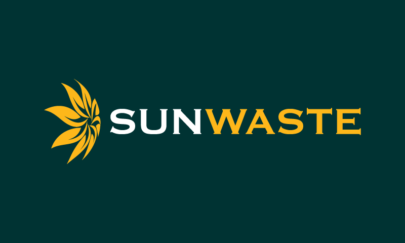Sunwaste - Green industry brand name for sale