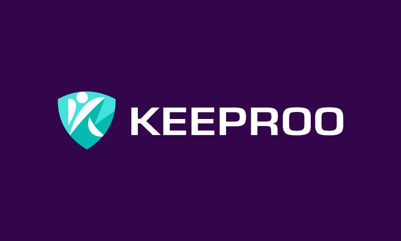 Keeproo - Business brand name for sale