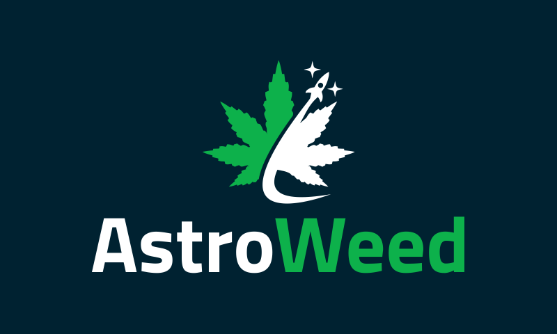 Astroweed - Cannabis business name for sale