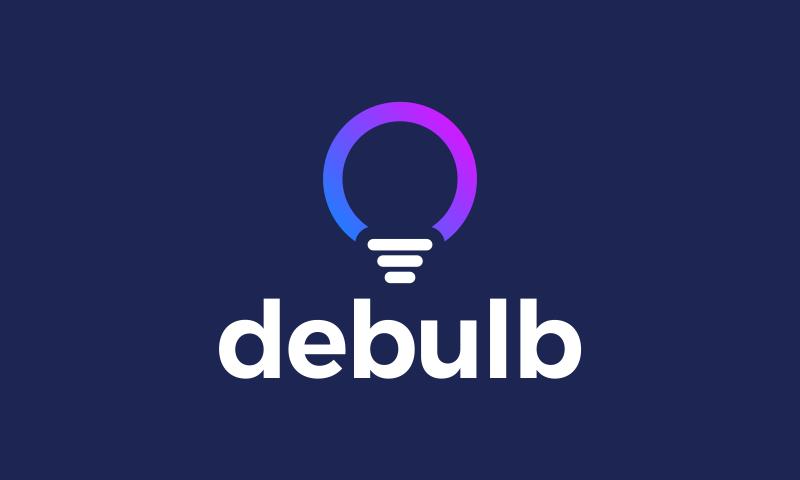 Debulb - E-commerce domain name for sale