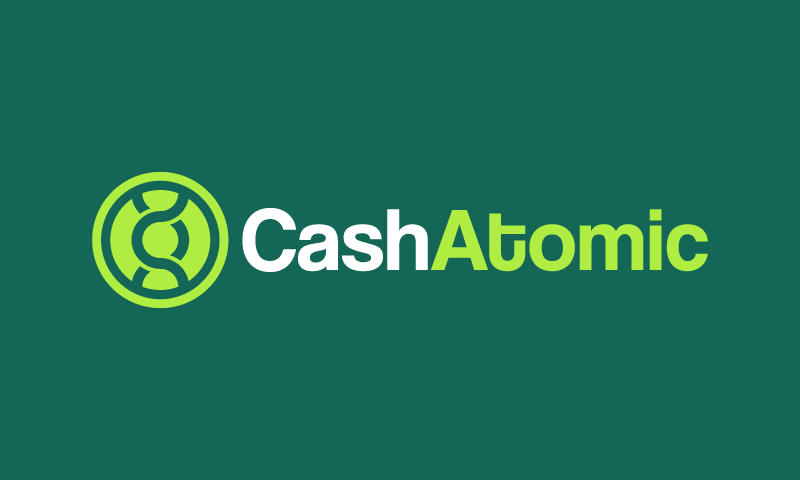Cashatomic - Finance startup name for sale