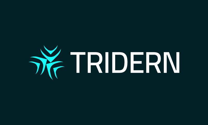 Tridern - Interior design company name for sale